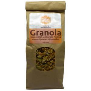 Granola met bijenpollen